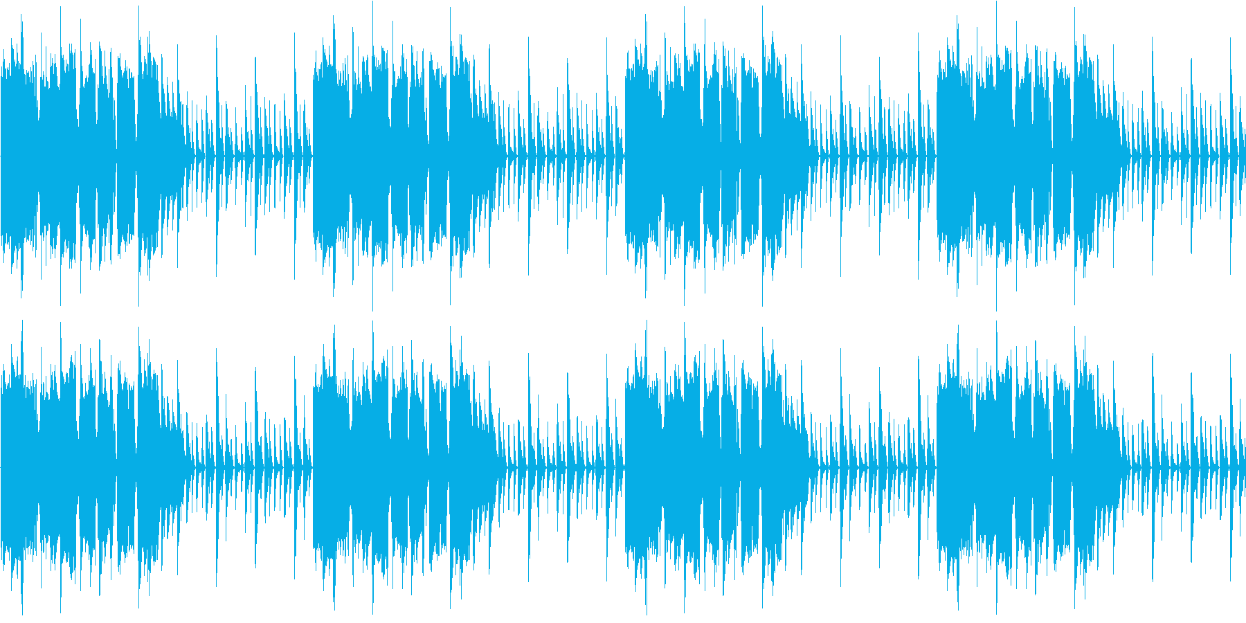 【女性ヴォーカル/パワフル/パーティー】の再生済みの波形
