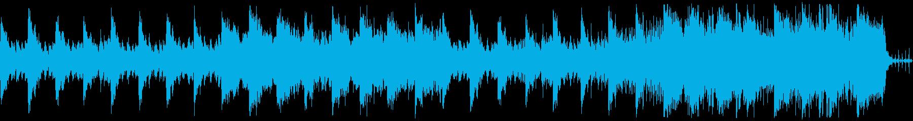 タイトル画面や回想シーン向けなBGMの再生済みの波形