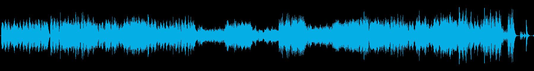 ワルツ 第4番 ピアノ+オケ版の再生済みの波形