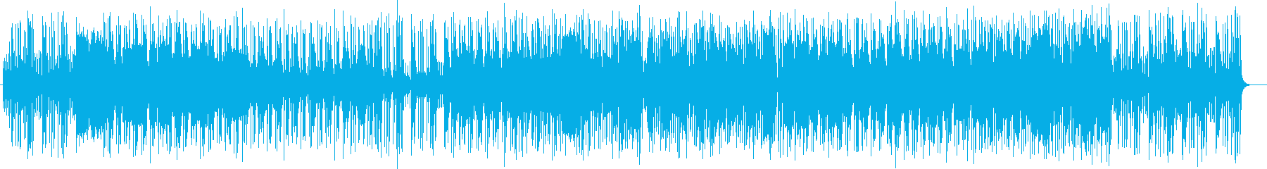 楽しいキーボードのポップスの再生済みの波形