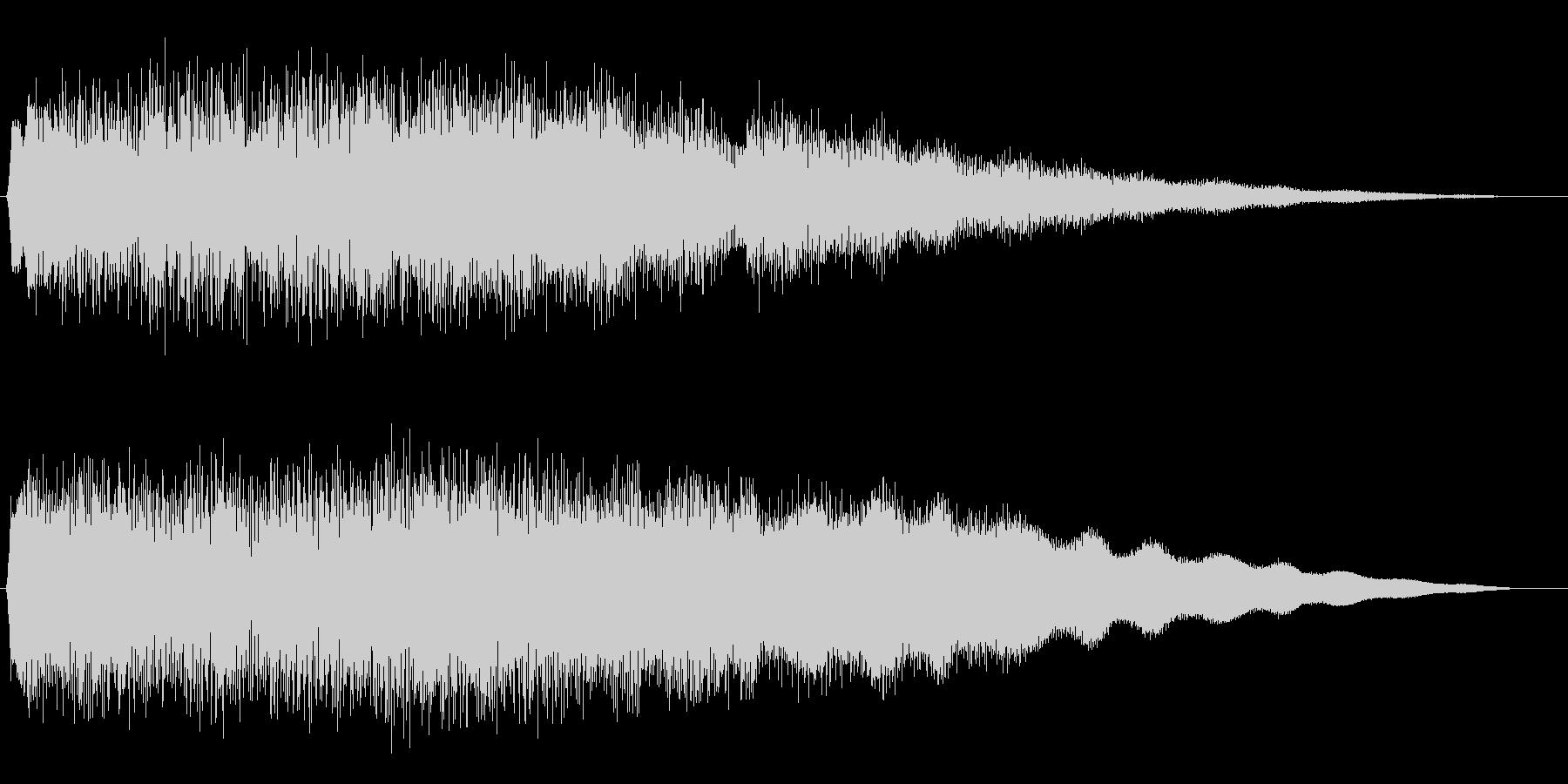 キララララーンご褒美サウンドの未再生の波形