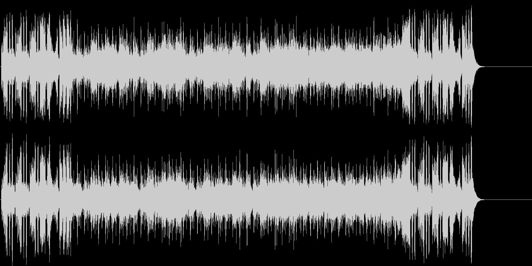 ゆったりしたエンド(イントロ~A~B…)の未再生の波形