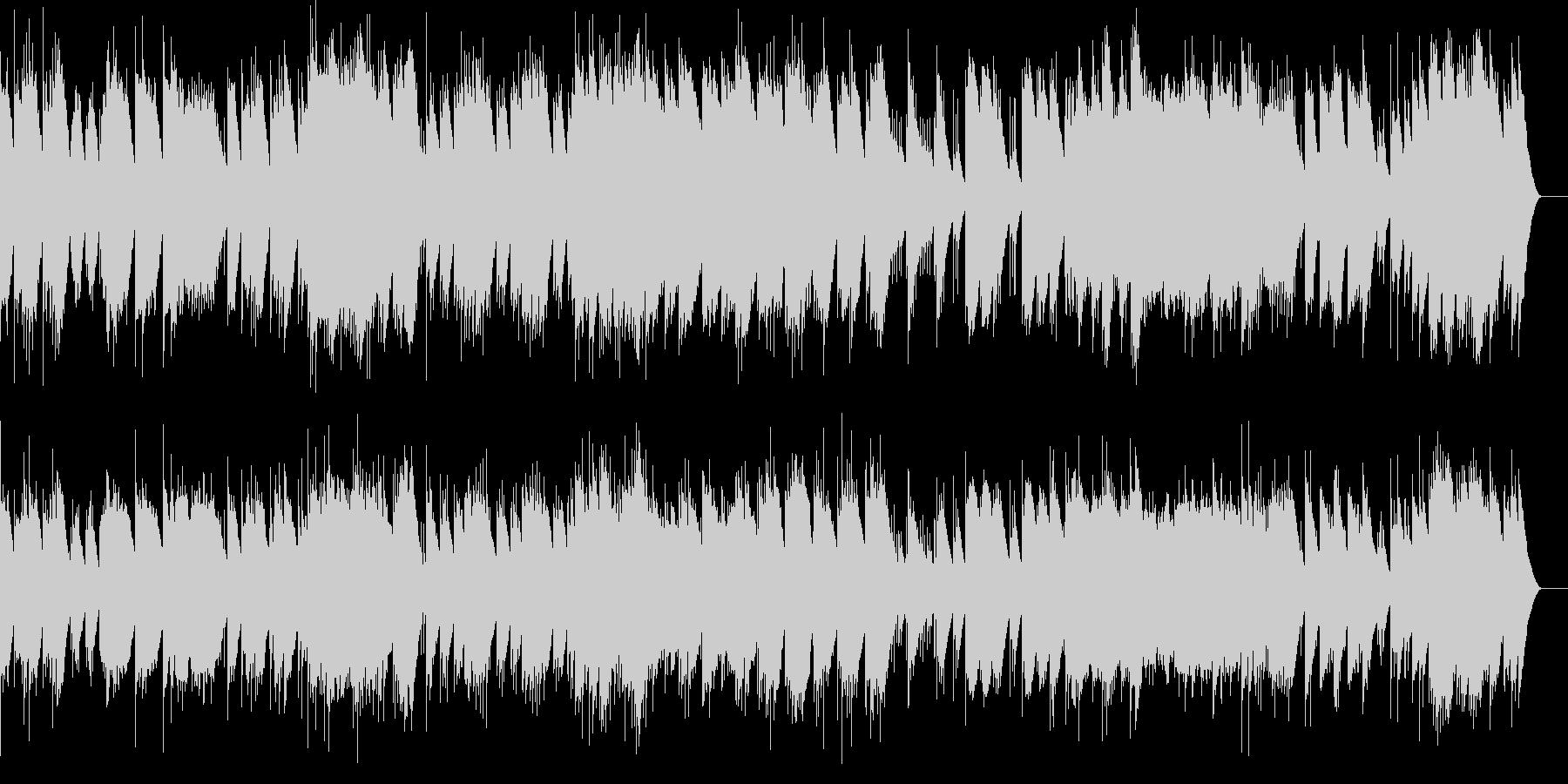 小組曲 1.小舟にて(オルゴール)の未再生の波形