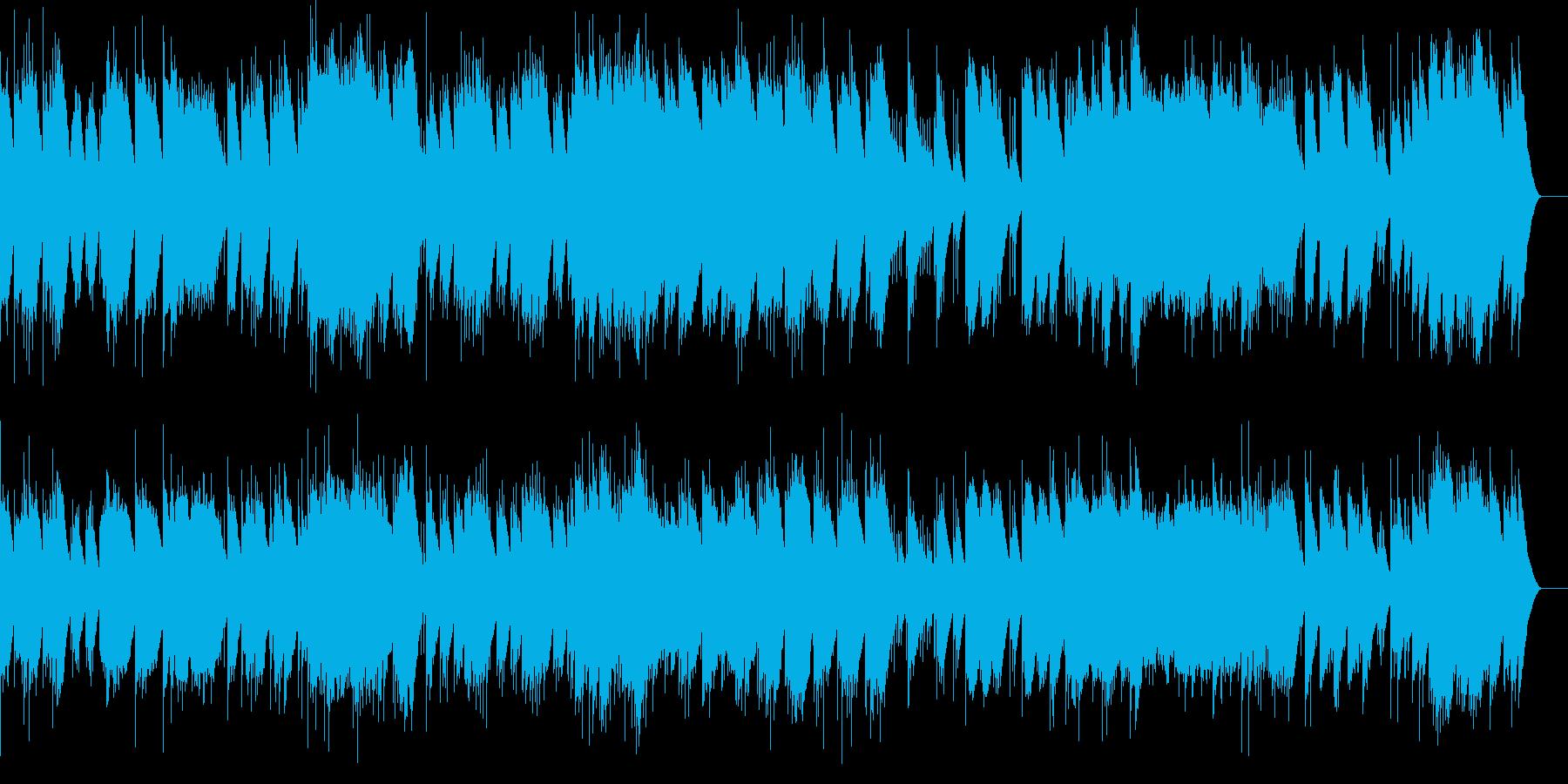 小組曲 1.小舟にて(オルゴール)の再生済みの波形