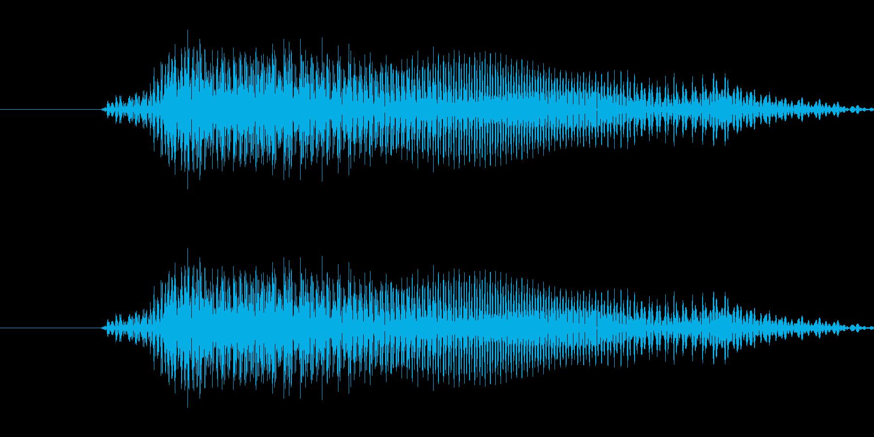 おう(下町江戸っ子、寿司屋の大将風)の再生済みの波形