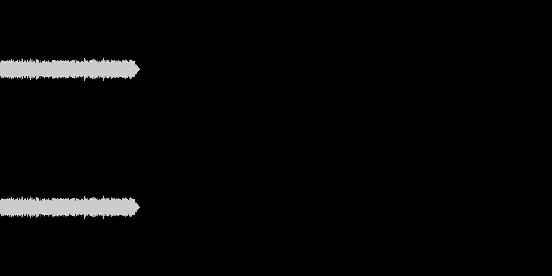【ホワイトノイズ-1】の未再生の波形