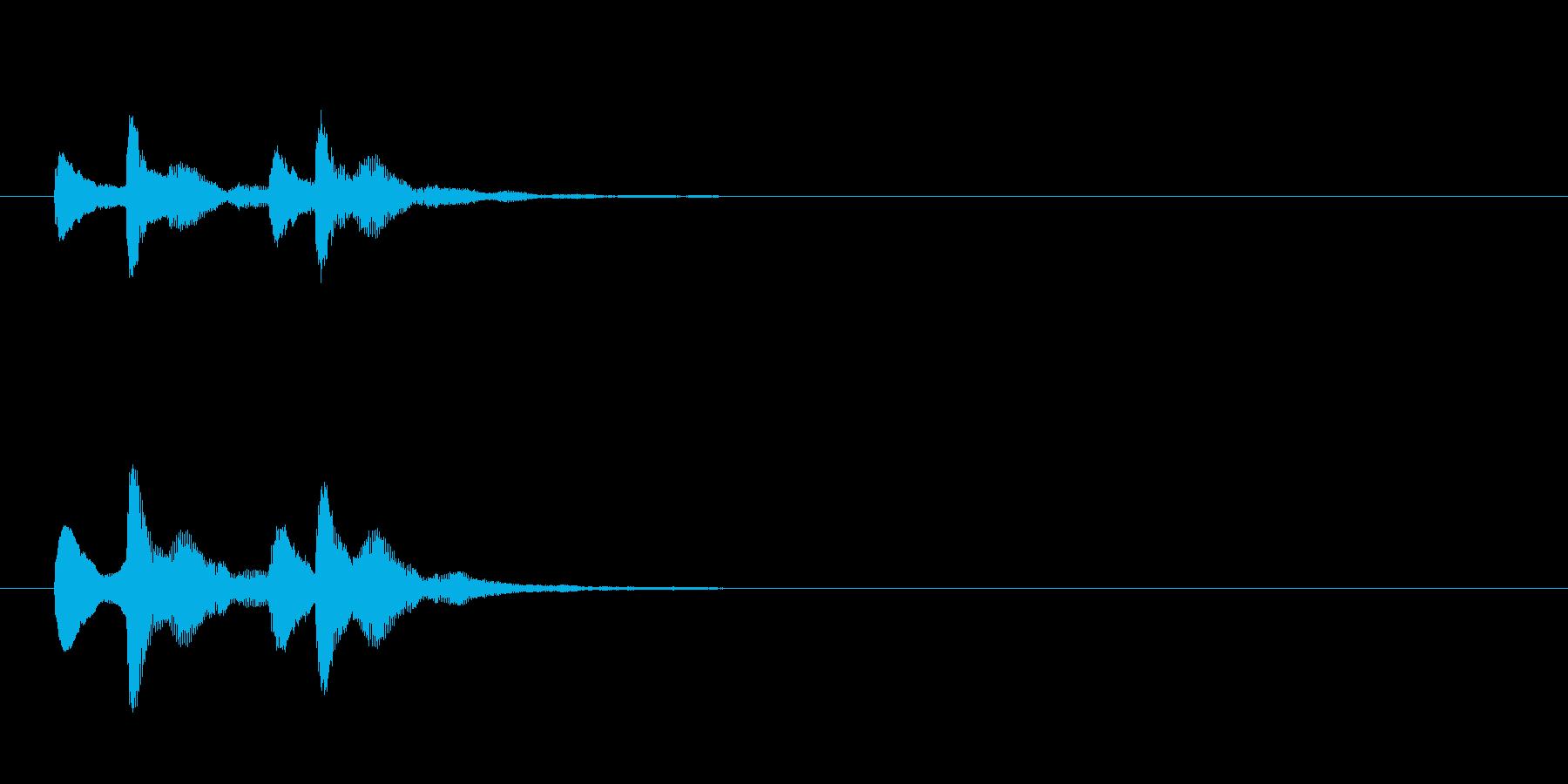 【ぴこぴこ】スチールドラムの可愛い音ですの再生済みの波形