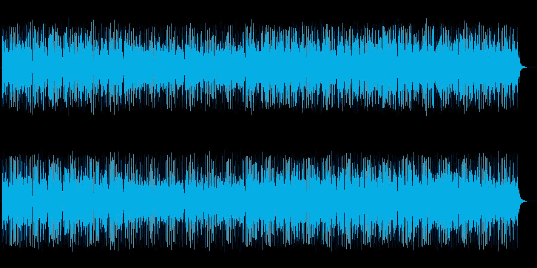 宇宙感と和風ミックスのシンセテクノの再生済みの波形