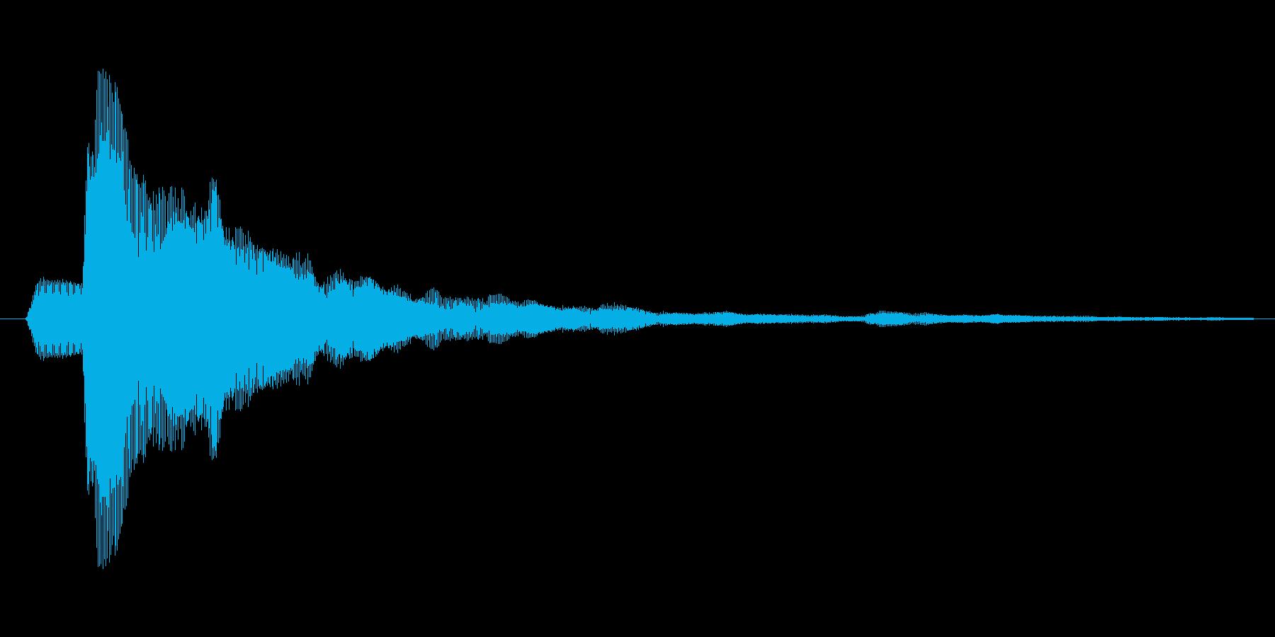 タップ.カーソル移動.クリック.決定14の再生済みの波形