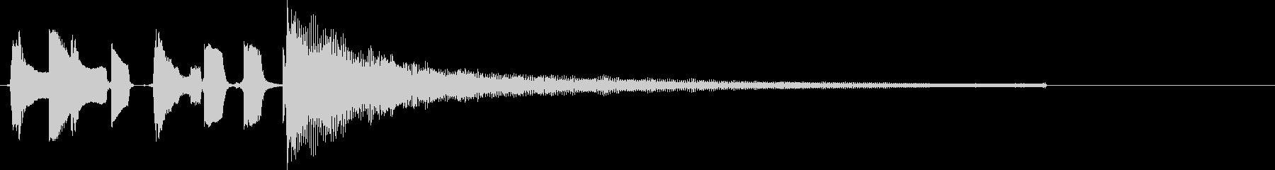 オチに使えるジングル(ドラム有)の未再生の波形