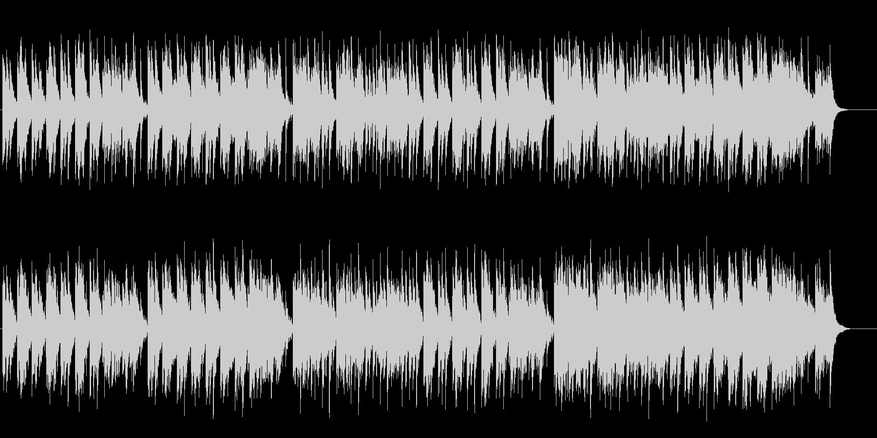 古き良き時代のワールド系アジアンBGMの未再生の波形
