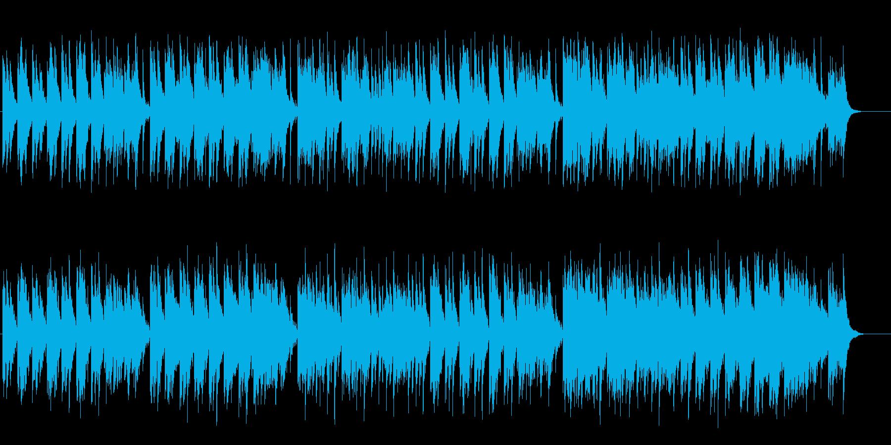 古き良き時代のワールド系アジアンBGMの再生済みの波形