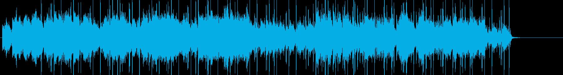 尺八とピアノの哀愁漂うHIPHOPの再生済みの波形