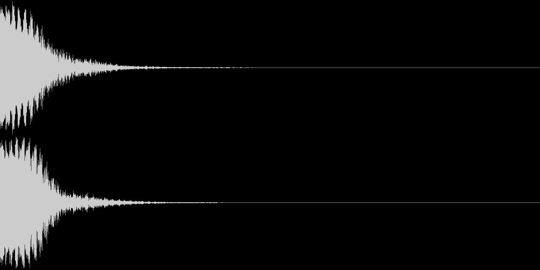 KAKUGE 格闘ゲーム戦闘音 51の未再生の波形