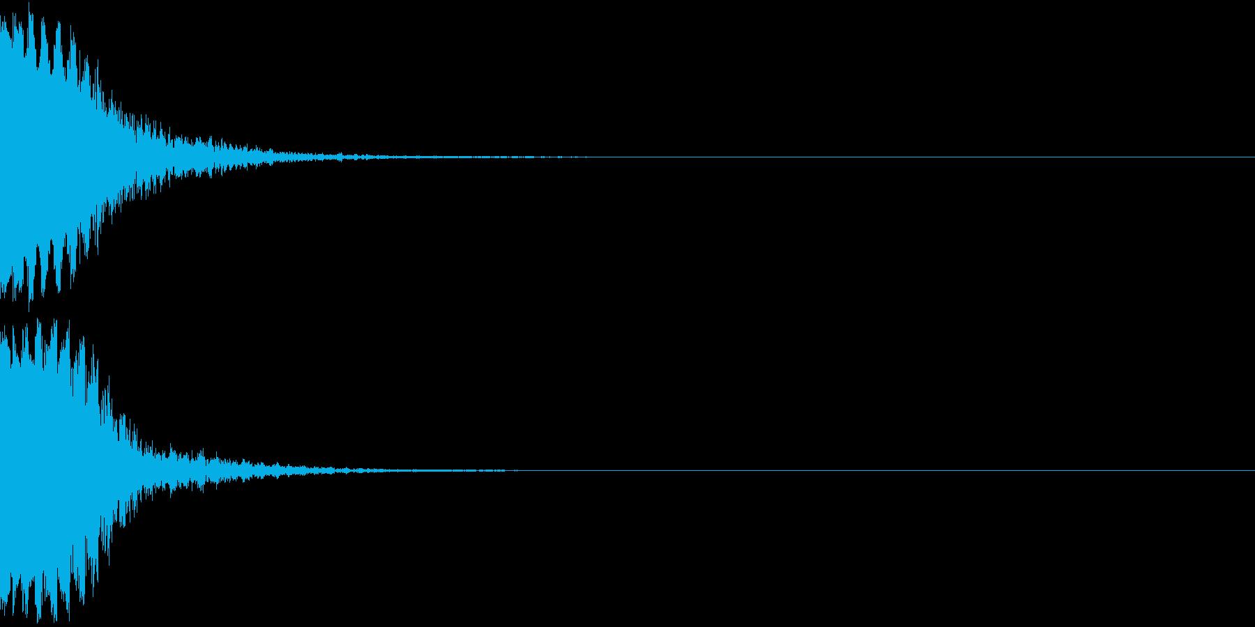 KAKUGE 格闘ゲーム戦闘音 51の再生済みの波形