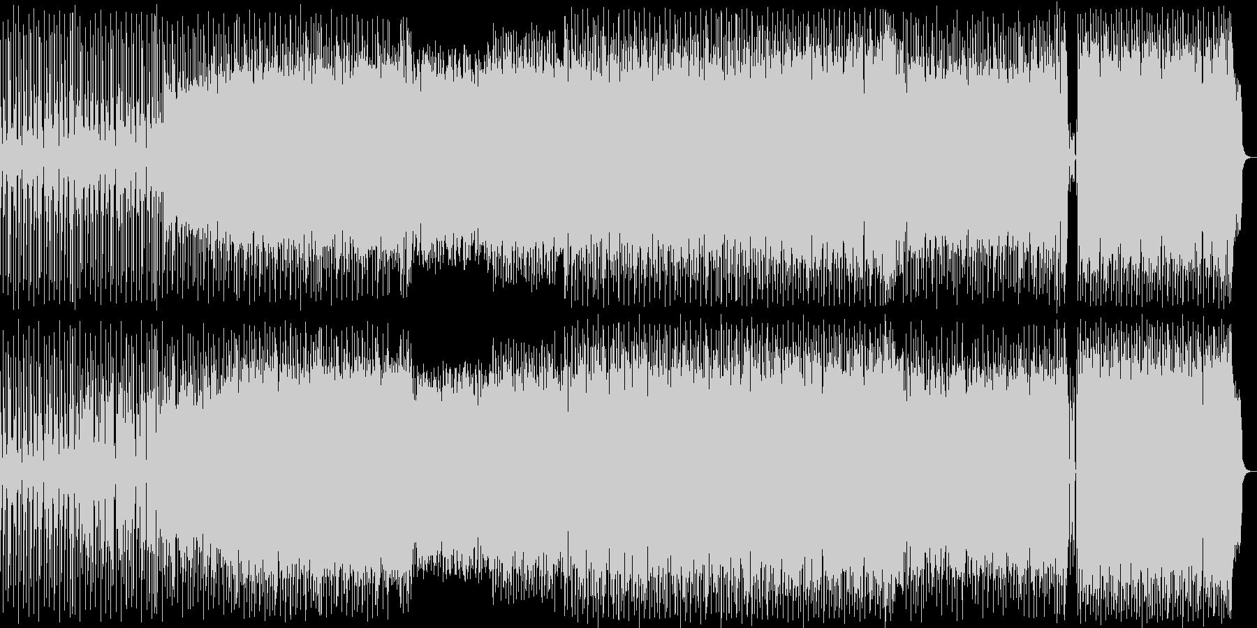 宇宙的なシンセポップハウス系の未再生の波形