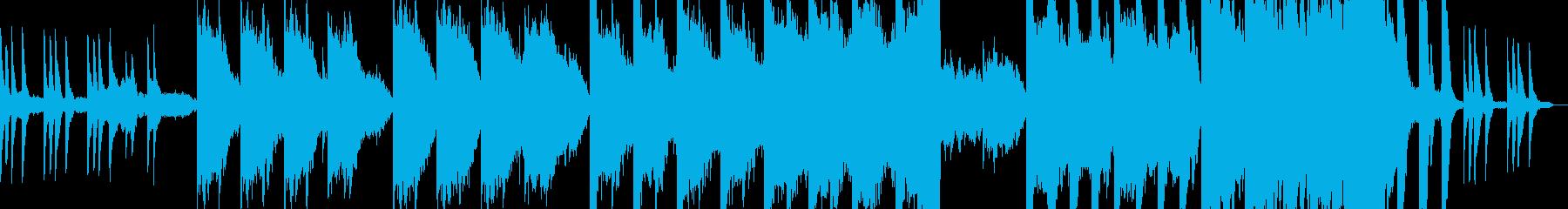 哀しい出来事の再生済みの波形