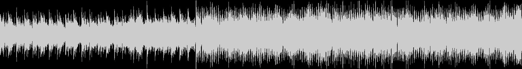切なさと疾走感のアコギハウスループ音源の未再生の波形