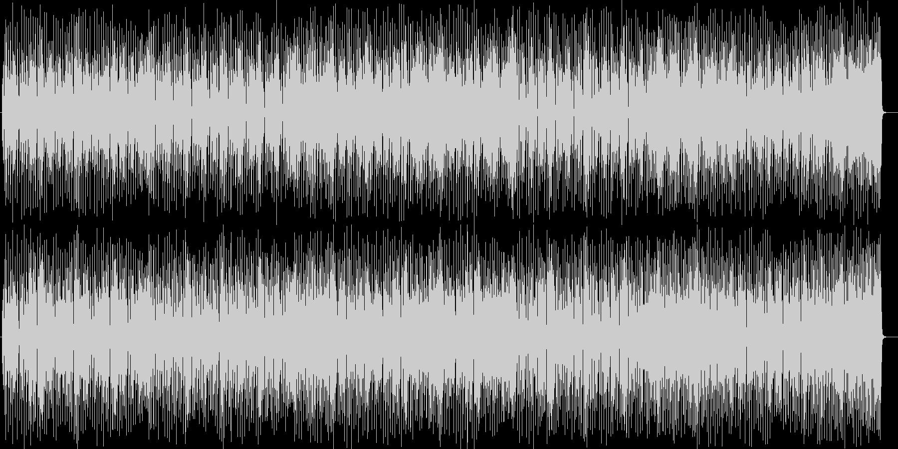 宇宙感のある楽しいシンセサイザーサウンドの未再生の波形
