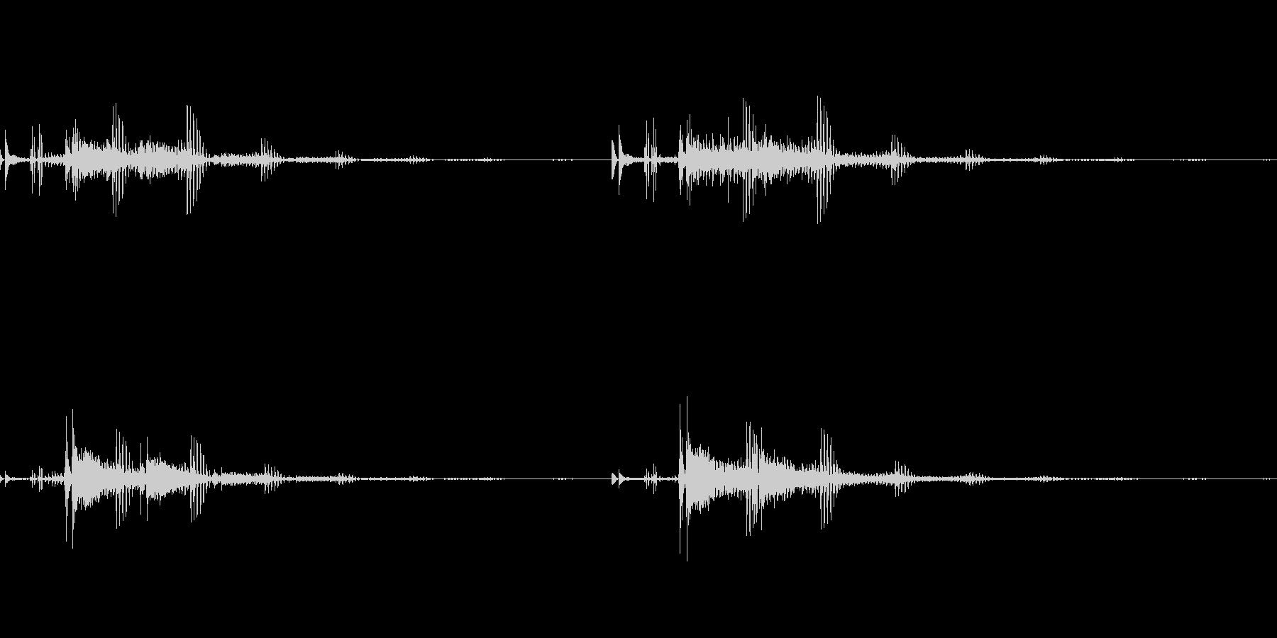 宇宙っぽい電子音2の未再生の波形