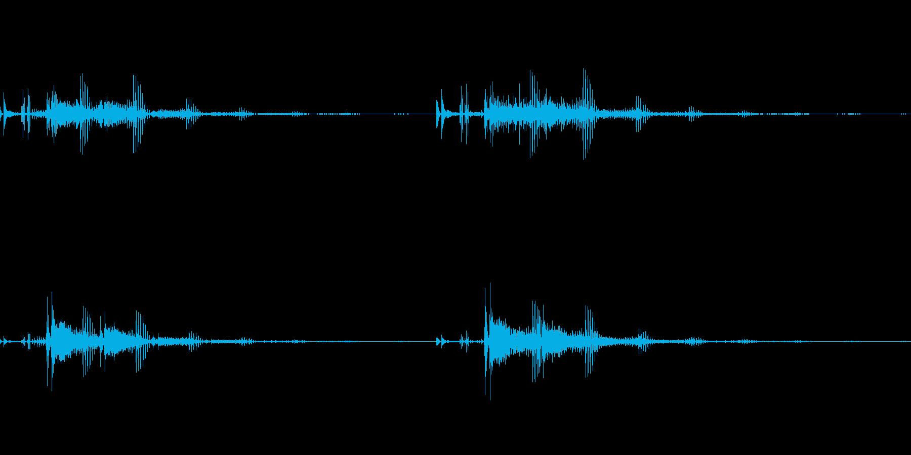 宇宙っぽい電子音2の再生済みの波形