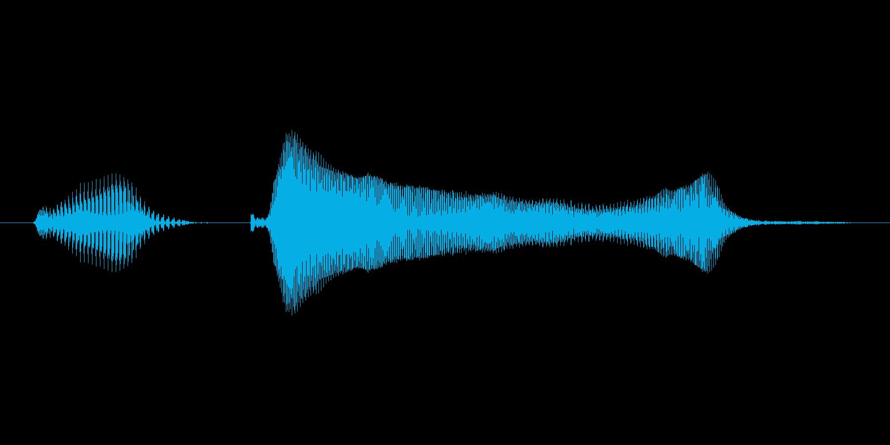 いくわよ!(Type-C)の再生済みの波形
