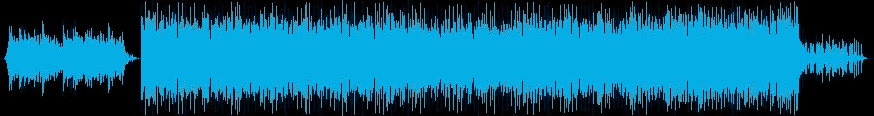 爽やかでポップなピアノハウスの再生済みの波形