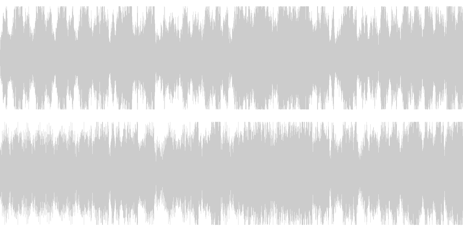 ダーク、ホラー向けオーケストラ ループの未再生の波形