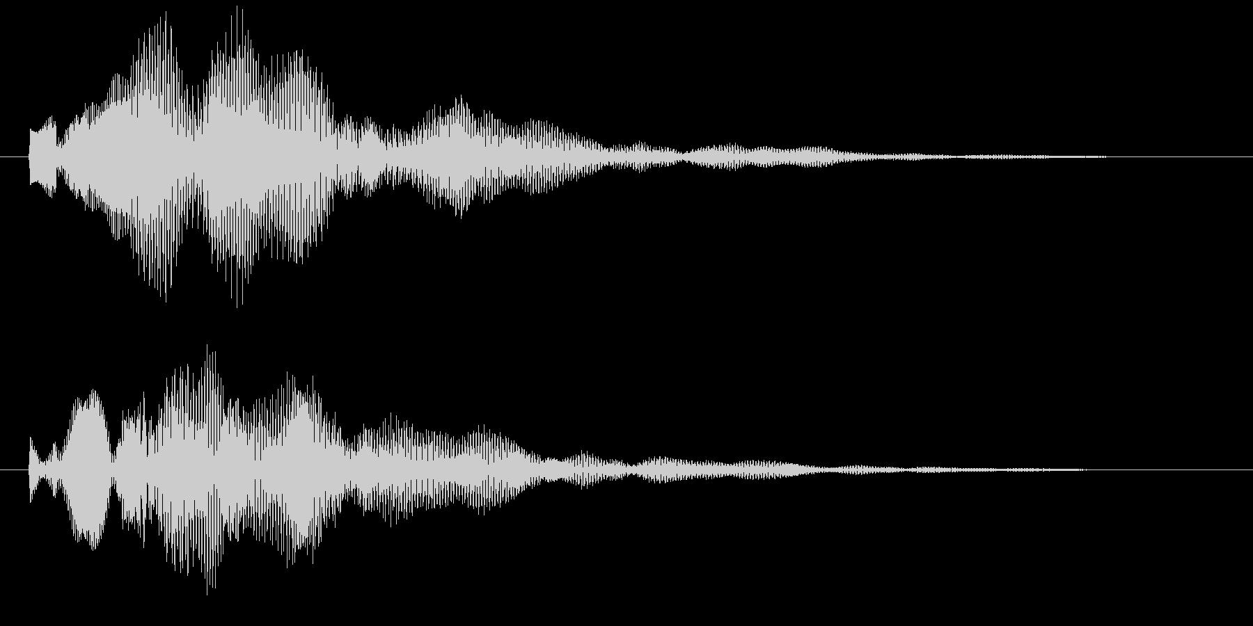 カウントダウン 探知レーダー 決定 選択の未再生の波形