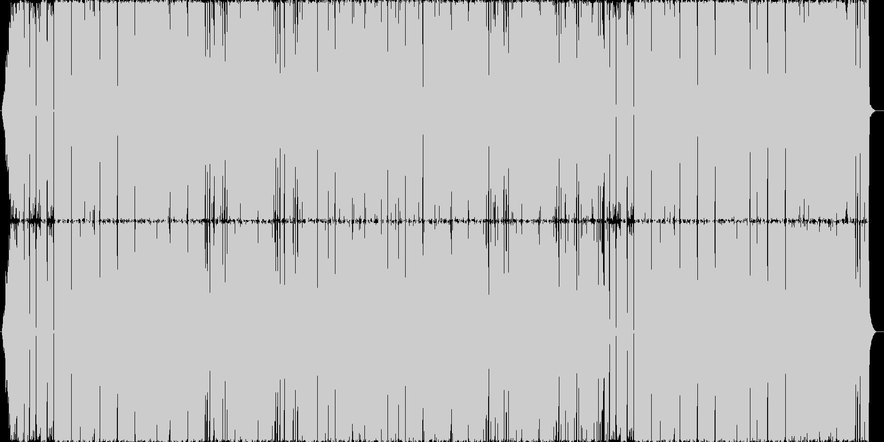重いロック/ホラーゾンビ・格闘イベントの未再生の波形