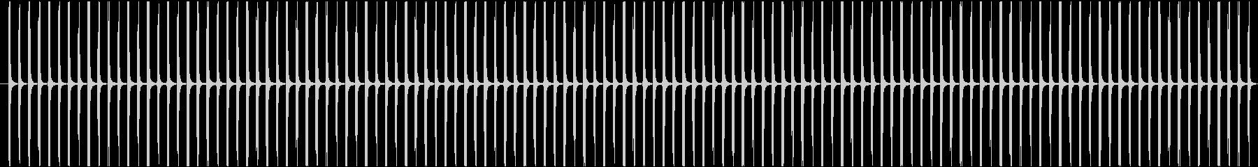 (チッチッ)ストップウォッチの秒針音Bの未再生の波形