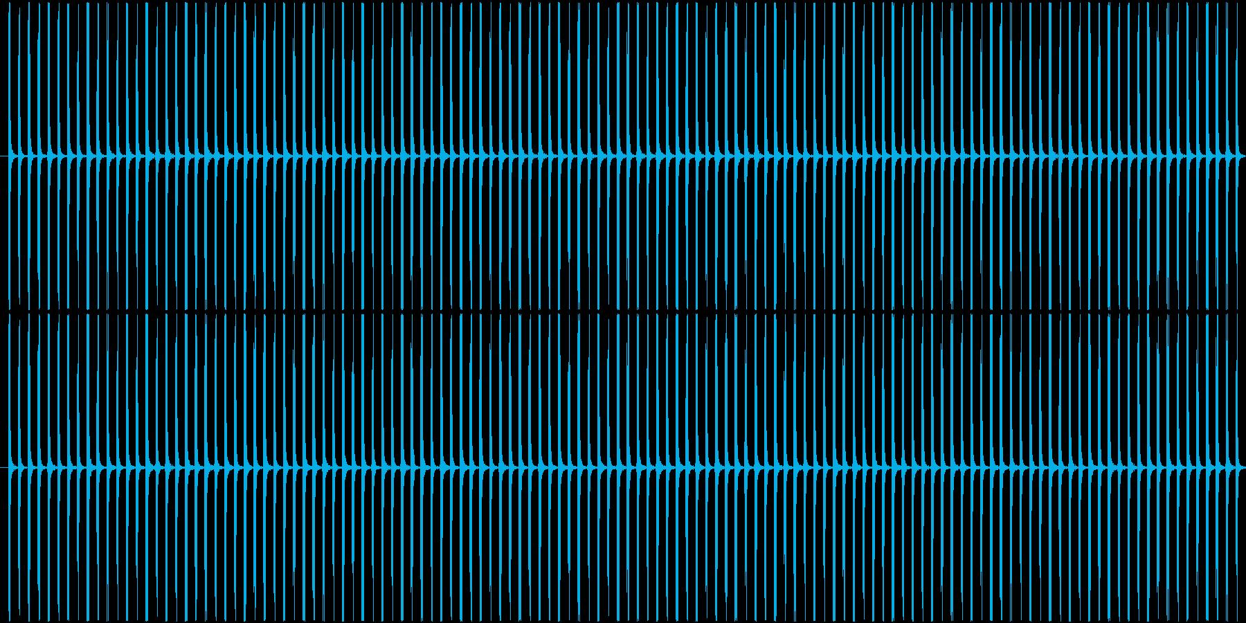 (チッチッ)ストップウォッチの秒針音Bの再生済みの波形