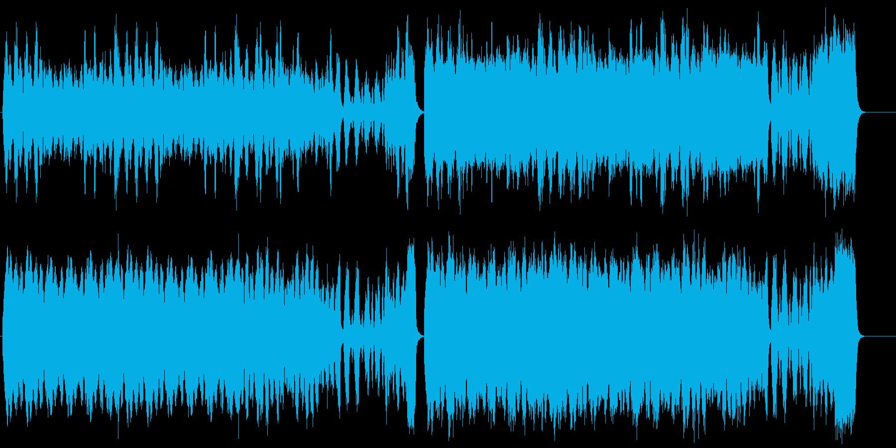 気品溢れる優雅なストリングス曲の再生済みの波形