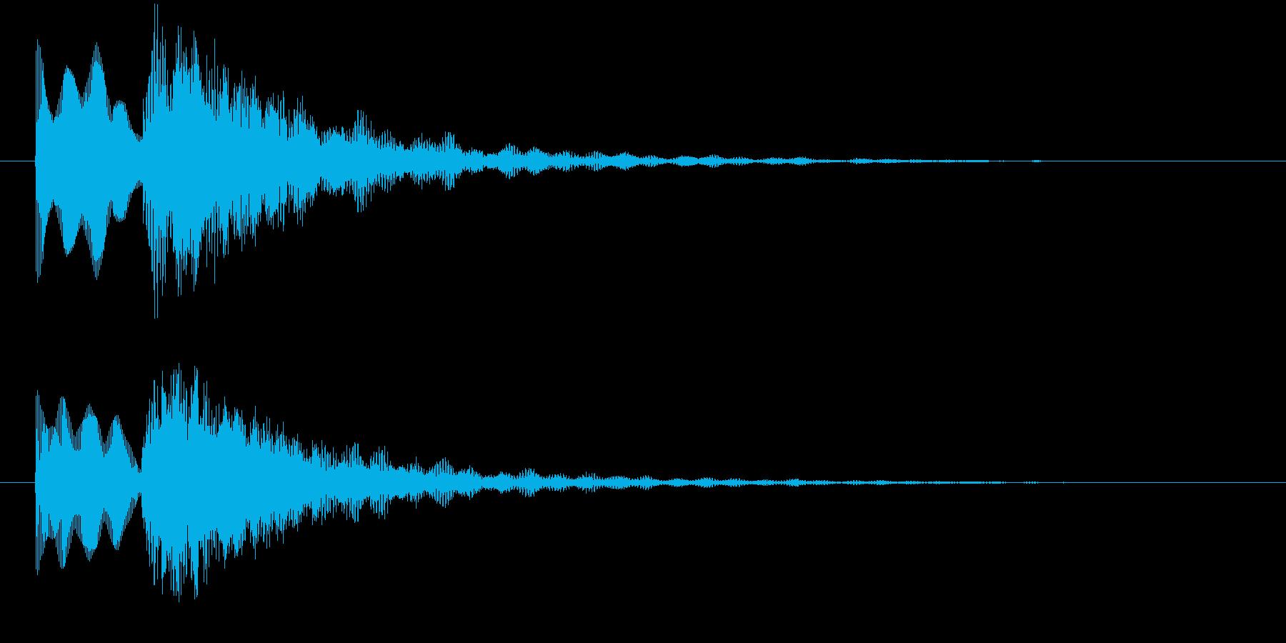 エレピの優しい音サウンドロゴ、ジングルにの再生済みの波形