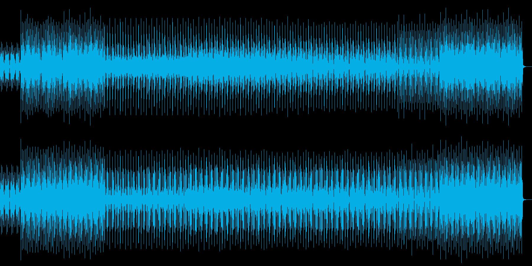 ロボットたちの会話を聞いてしまった近未来の再生済みの波形