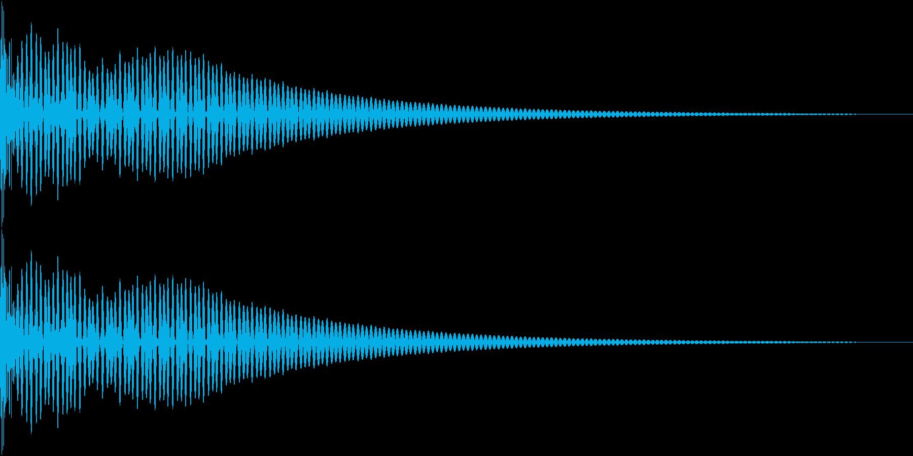 DTM Tom 12 オリジナル音源の再生済みの波形