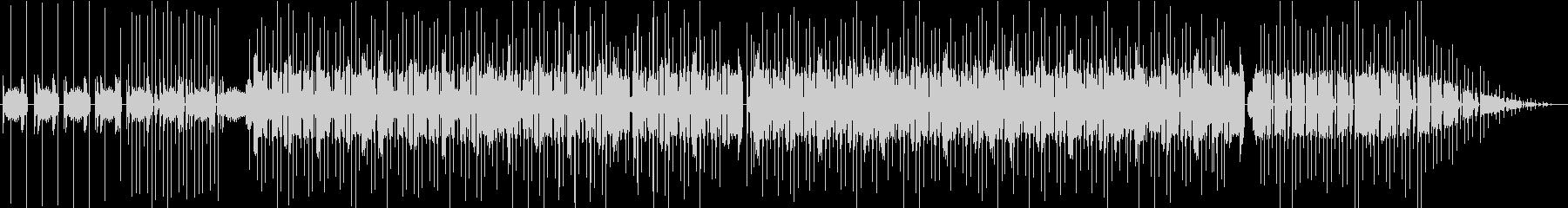 90s的なHIPHOP、ブレイクビーツの未再生の波形