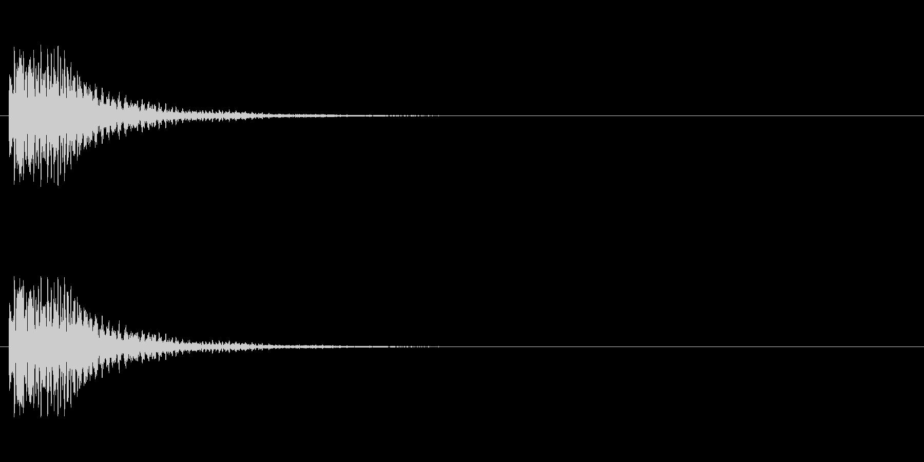 【光る01-1】の未再生の波形