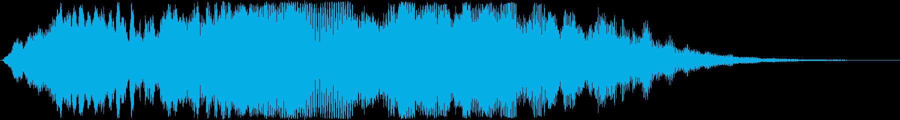 怖い系効果音 ピヒャー 尺八怖い系の再生済みの波形