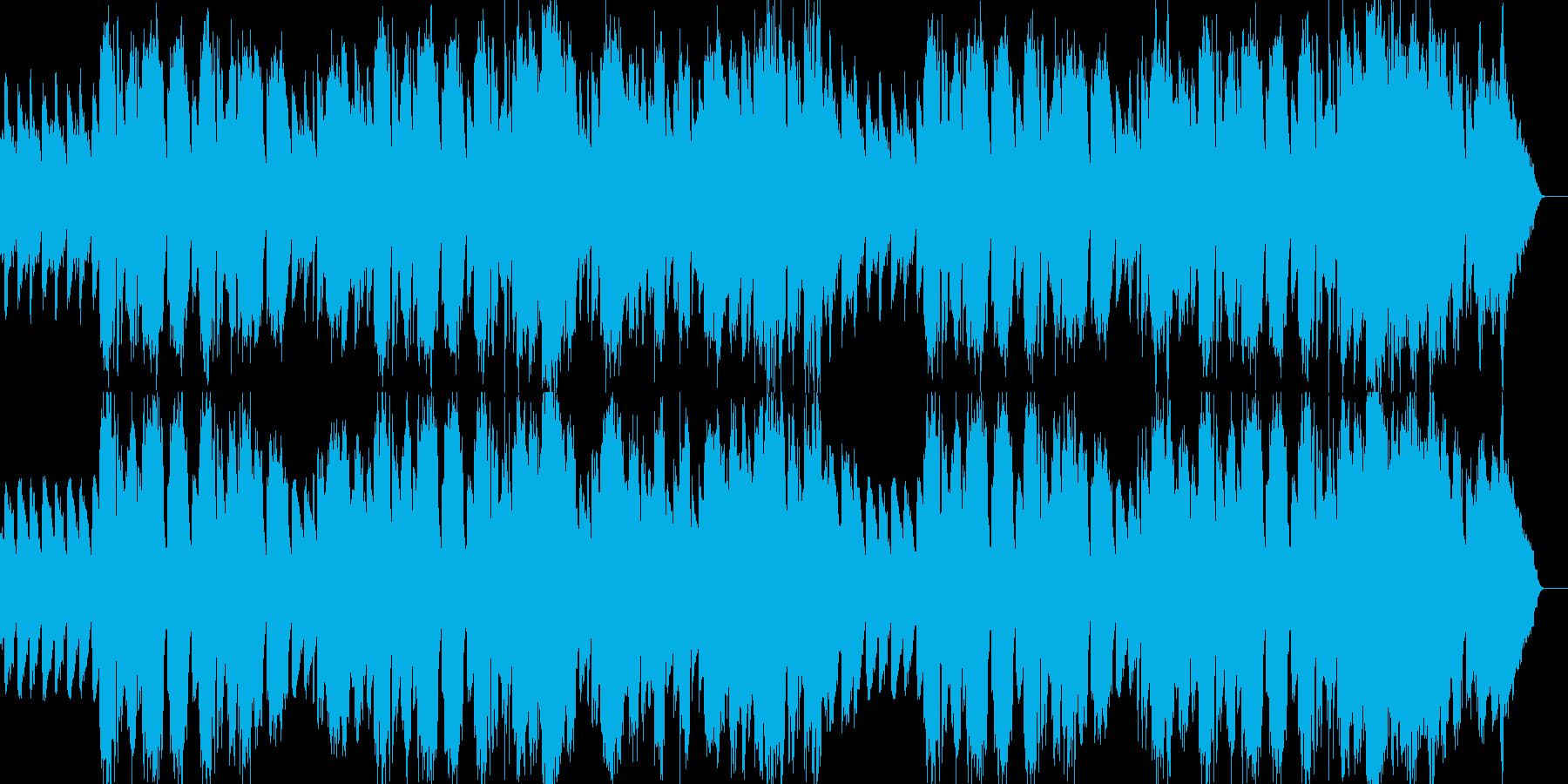 フレンチ/ワルツ/夜/ゆったり/哀愁の再生済みの波形