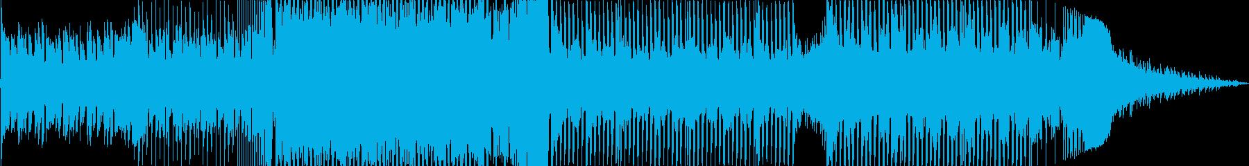 ピアノがメインのEDMヒーリングハウスの再生済みの波形