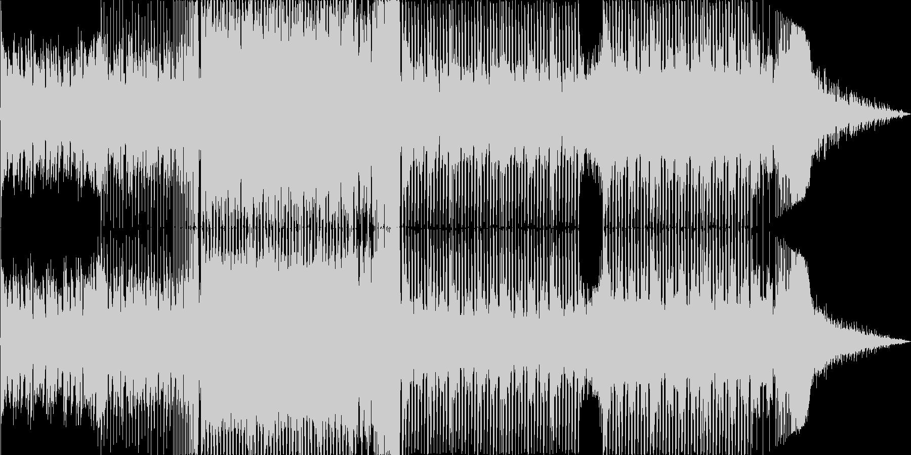 ピアノがメインのEDMヒーリングハウスの未再生の波形