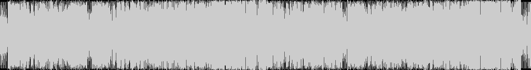 チップチューン風のシンセポップの未再生の波形