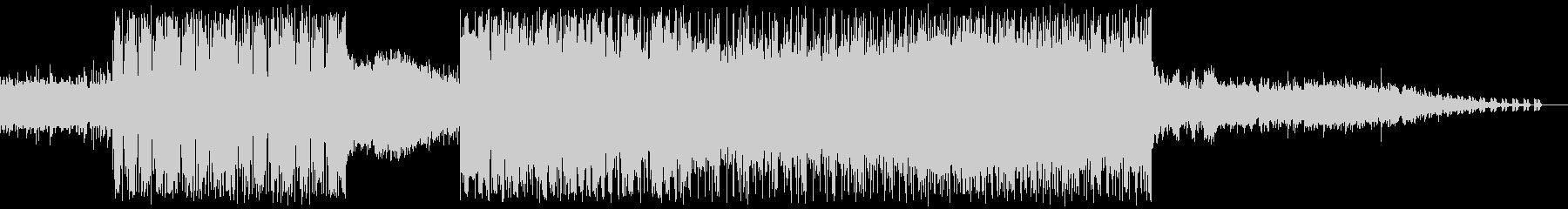 6/8拍子のかっこいいバンドサウンドの未再生の波形
