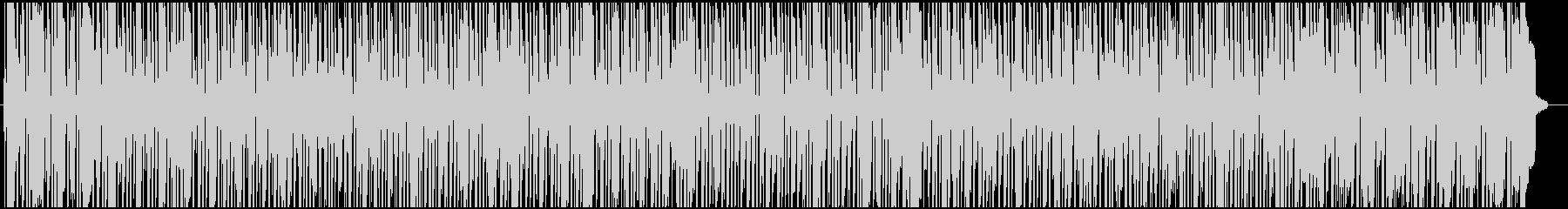 穏やかなのにファンキーなソウル・R&Bの未再生の波形