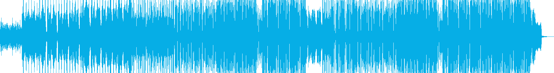 切ないクリップウォーク系ヒップホップの再生済みの波形