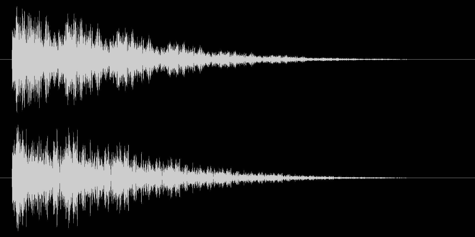【アクセント45-2】の未再生の波形