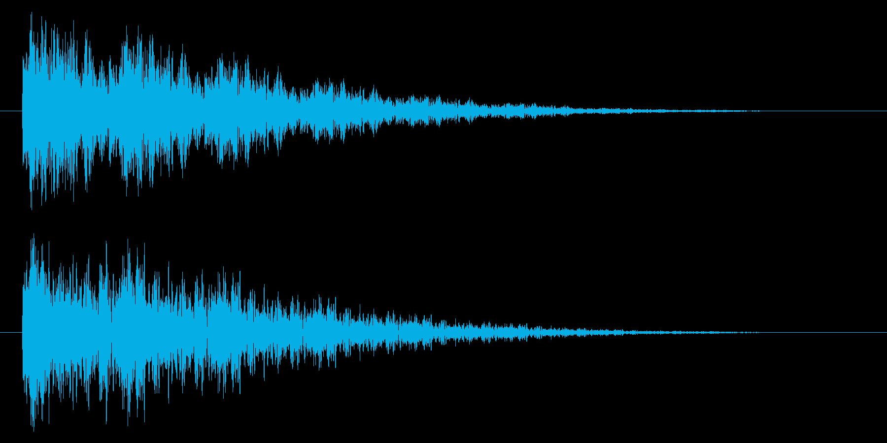 【アクセント45-2】の再生済みの波形