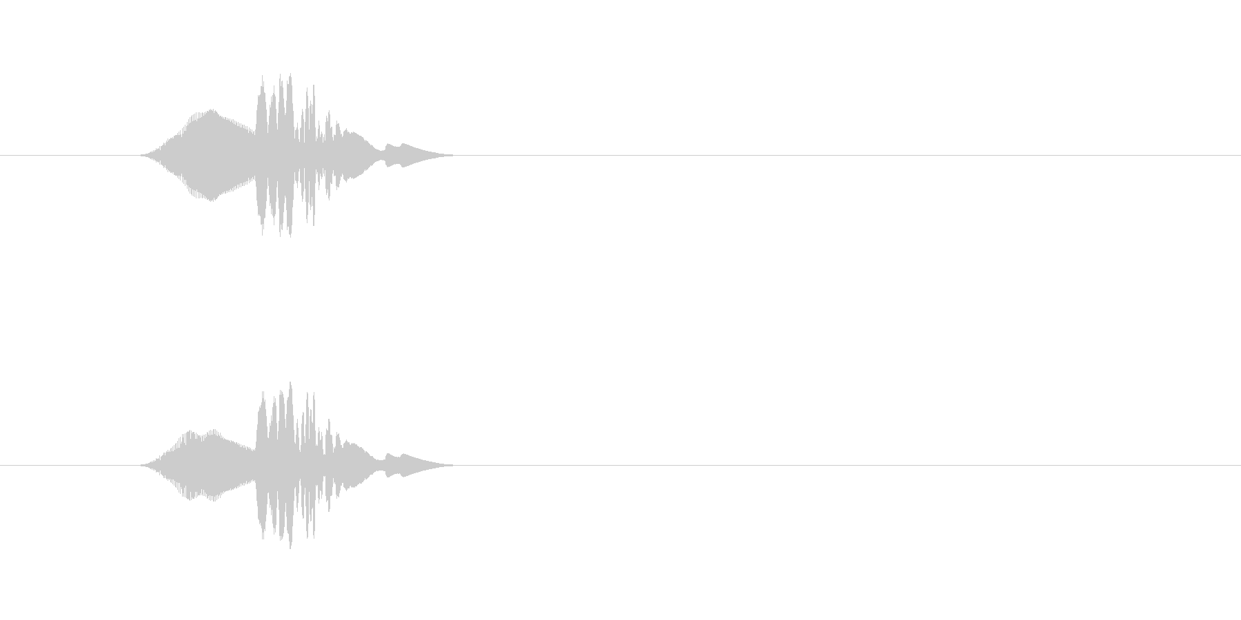 振り向き_m0227の未再生の波形