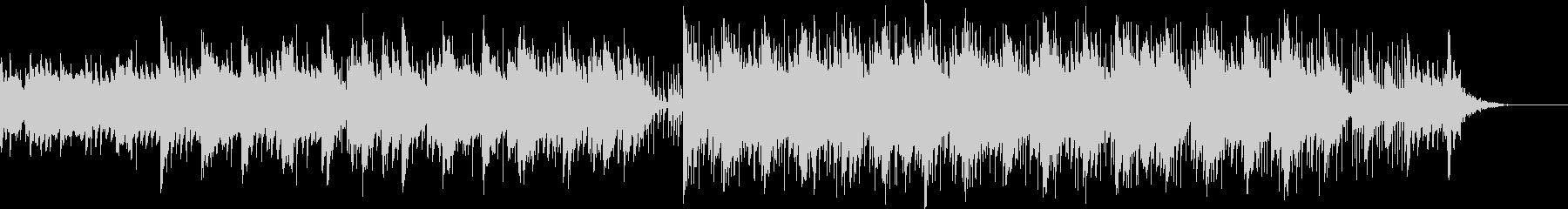 ストリーミング ハッピー EDM ピアノの未再生の波形